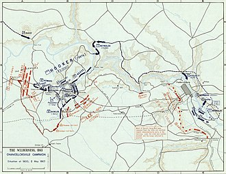 battle of chancellorsville wikipedia