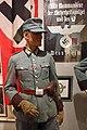 WW2 Norway. Nazi Germany swastika flag; Der Kommandeur der Sicherheitspolizei und der SS Drontheim (wall sign); Polizeioberwachtmeister der Schutzpolizei etc Justismuseet Trondheim 2019 7063.jpg