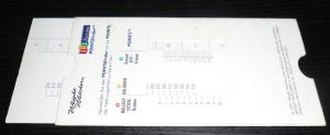 Weight Watchers - Weight Watcher Slide Ruler
