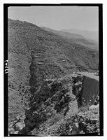 Wady J'Meijina (?), north side, zig zag road on way to Beskinta LOC matpc.12713.jpg