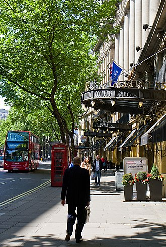 Aldwych - Part of Aldwych pictured in 2011