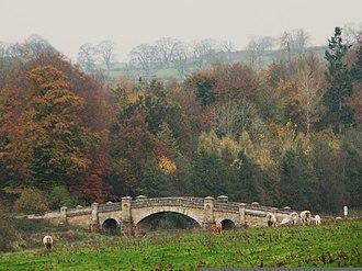 River Wansbeck - Image: Wallington Bridge geograph.org.uk 1585530