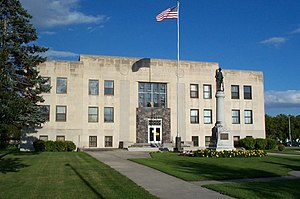 Walsh County Courthouse - Image: Walsh County Courthouse