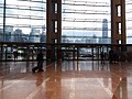 Wan Chai North 灣仔北 HKCEC interior 香港會展 Convention Road Expo Drive exit glass wall window January 2019 SSG 01.jpg
