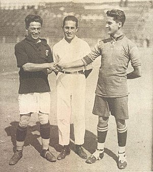 Santiago Wanderers - Wanderers and Everton in 1925.