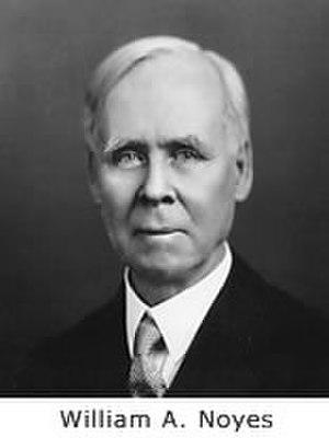 William A. Noyes - Image: Wanoyes