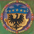 Wappen Ampt+Vogtey Grüningen 1596 Seehbuch Ramminger.jpg
