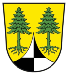 Wappen del cümü Dentlein am Forst