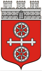 Coat of arms of the city of Gau-Algesheim