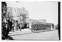 War cemetery consecration, Gaza, April 28, 1925 LOC matpc.08207.jpg