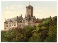 Wartburg, from the east, Thuringia, Germany-LCCN2002720778.tif