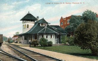 Warwick, New York - Warwick station, ca. 1910