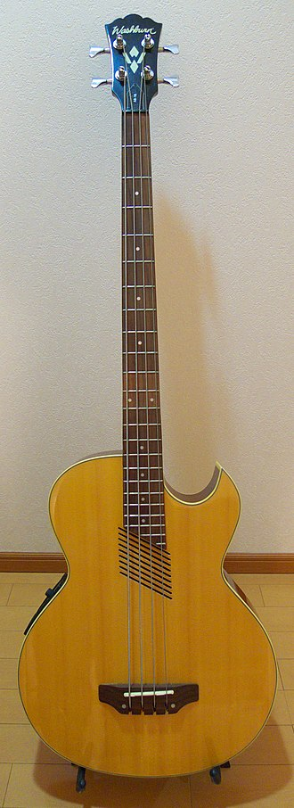 Acoustic bass guitar - Washburn AB-10 Acoustic-Electric Bass Guitar