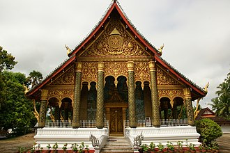 Place of worship - Wat Mahathat, Luang Prabang, Laos