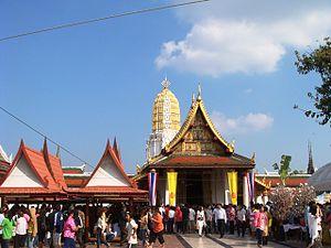 Phitsanulok: Wat Yai, Phitsanulok, Sukhothai, Thailand