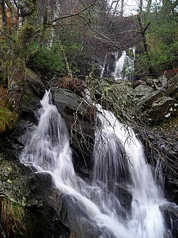 Waterfall Near Loch Katrine - geograph.org.uk - 687878