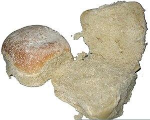 Blaa - Image: Waterford Blaa, bla or blah (bread of Ireland)