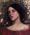 Waterhouse, JW - The Rose Bower (1910).jpg