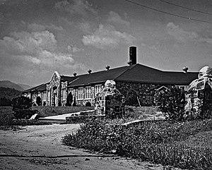 Webster Rock School - Webster School in 1937 shortly after it was built