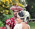 Wedding couple in Kandy Sri Lanka.JPG