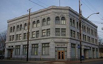 Weizer Building (11801 Buckeye Road, Cleveland, Ohio) - Image: Weizer 11801Buckeye