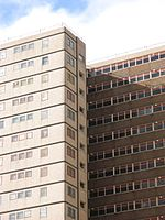Public housing in Collingwood, Victoria Wellington Street HC High Rise.JPG