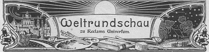 Weltrundschau zu Reclams Universum 1903.jpg