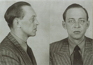 American Theater (World War II) - RCMP booking photo of Janowski
