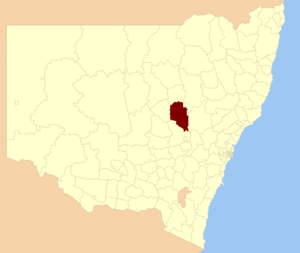 Dubbo Regional Council - Location of Dubbo Regional Council in New South Wales