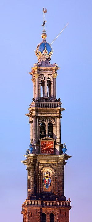 Samuel Blommaert - Tower of the Westerkerk