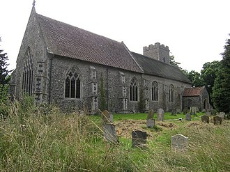 Westhall - Image: Westhall Church of St Andrew