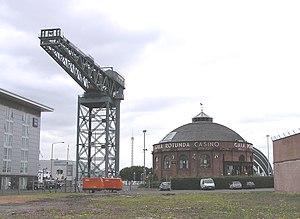 Clarke Chapman - The Finnieston Crane in Glasgow built by Cowans Sheldon