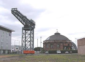 Finnieston - Image: Wfm crane north rotunda