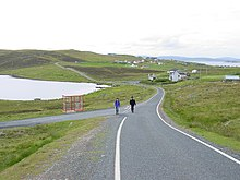 Whalsay road from Symbister to Isbister.jpg