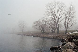 Whiskey Island (Cleveland) - Whiskey Island in winter