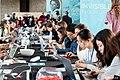 Wiki4Women Wikipedia workshop at UNESCO HQ in Paris, 8th March 2019.jpg