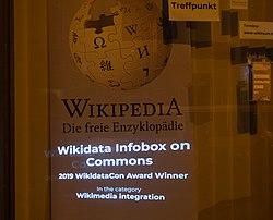 Wikidata Infobox on Commons WikidataCon Award winner.jpg