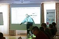 Wikimedia Hackathon Vienna 2017-05-19 Fantastic MediaWikis 004.jpg