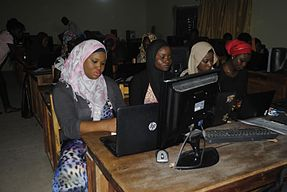 Wikipedia 18 at Fountain University Osun state Nigeria.jpg