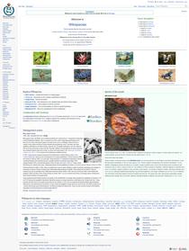Wikispecies screenshot.png