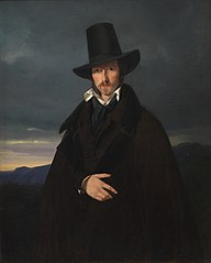 Portrait of the German Painter Wilhelm von Kaulbach