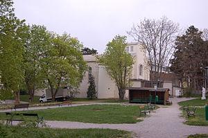 Das Wilhelminenspital in Wien-Ottakring (Montl...