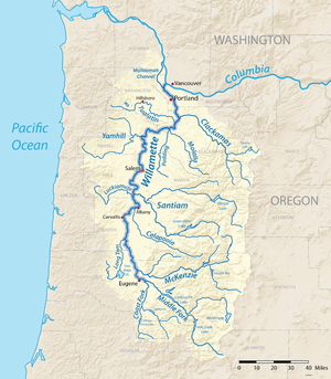 Willamette River - Wikipedia