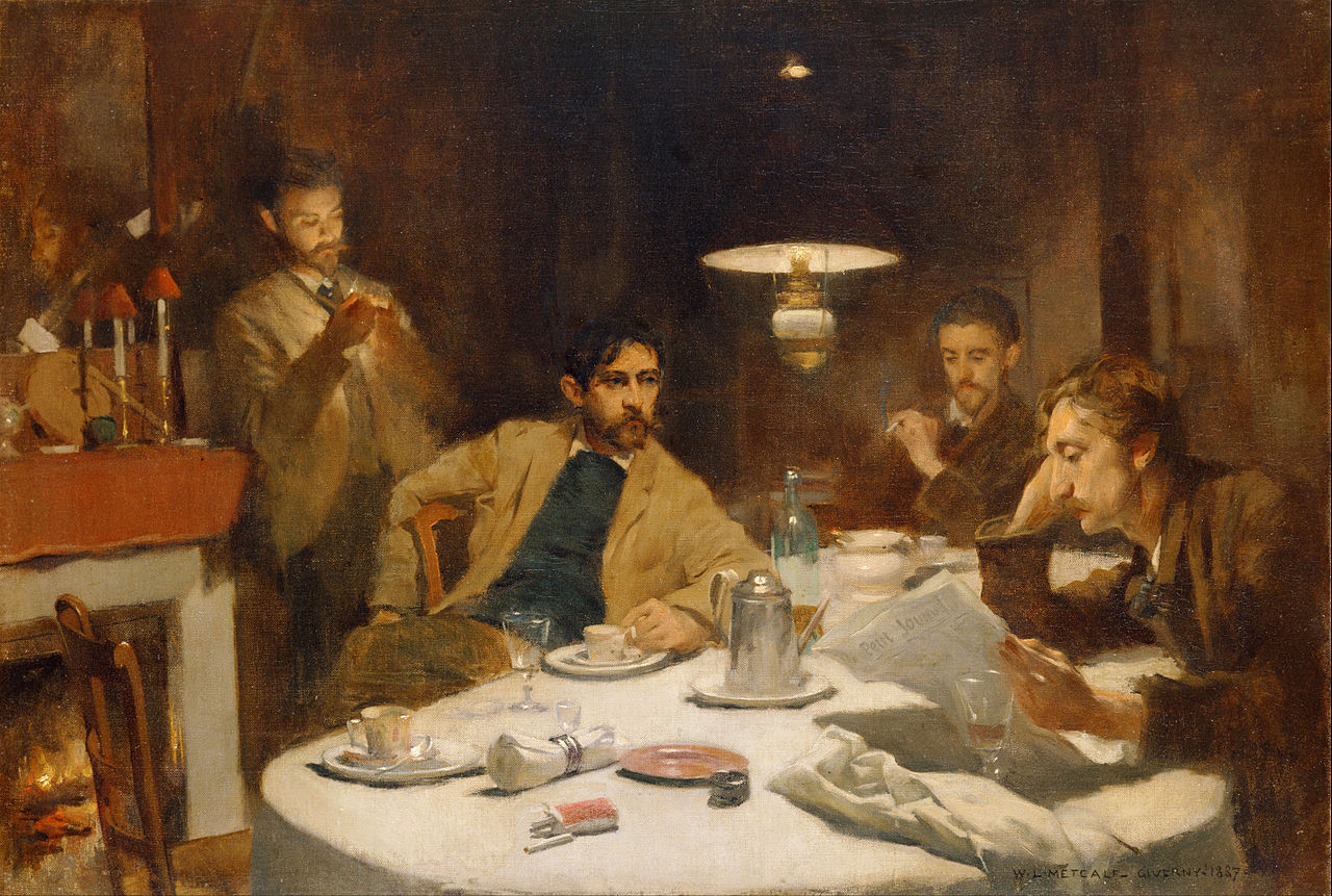 Willard Leroy Metcalf - The Ten Cent Breakfast - Google Art Project.jpg