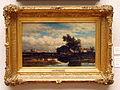 Willem Roelofs (1822-1897), Landschap bij Dordrecht, Olieverf op doek.JPG