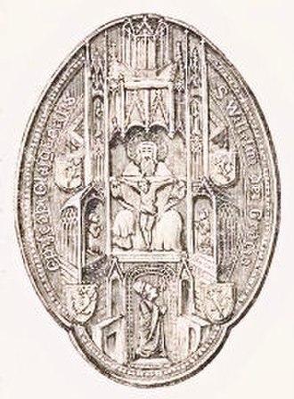 William de Lauder - Seal of William de Lauder