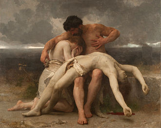 The First Mourning - Image: William Bouguereau El primer duelo