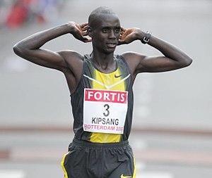 Egmond Half Marathon - The 2004 winner William Kipsang has also won the Amsterdam Marathon.