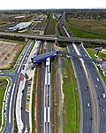 Williams Landing Train Station aerial vertical panorama.jpg