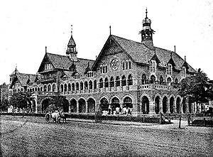 Wilson College, Mumbai - Wilson College, 1893